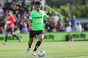 Forest Green Rovers Liam Shephard(2) runs forward during the Pre-Season Friendly match between Forest Green Rovers and Leeds United at the New Lawn, Forest Green, United Kingdom on 17 July 2018. Picture by Shane Healey.