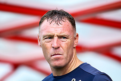 Bristol Rovers manager Graham Coughlan - Mandatory by-line: Robbie Stephenson/JMP - 14/09/2019 - FOOTBALL - Sincil Bank Stadium - Lincoln, England - Lincoln City v Bristol Rovers - Sky Bet League One