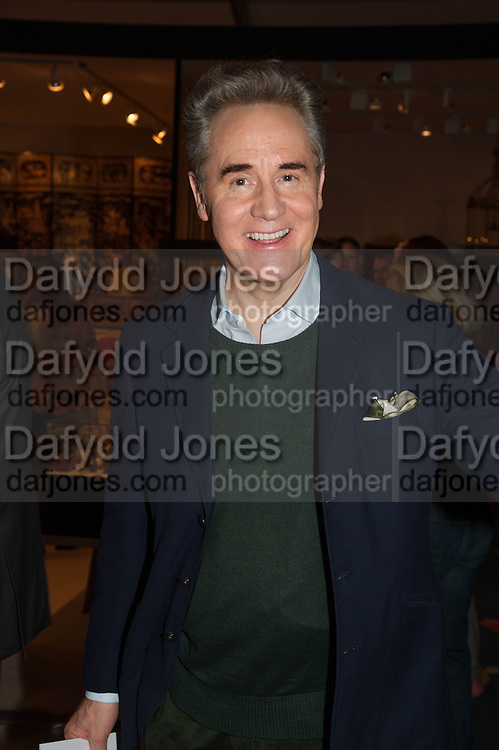 Peter York at the Opening of The LAPADA  Art and Antiques Fair. Berkeley Sq. London. 24 September 2013.