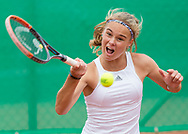 ANJA WILDGRUBER (GER), Tennis Europe-Bavarian Junior Open, GS16<br /> <br /> Tennis - Bavarian Junior Open 2017 - Tennis Europe Junior Tour -  SC Eching - Eching - Bayern - Germany  - 12 August 2017. <br /> &copy; Juergen Hasenkopf
