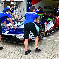 #66, Ford Chip Ganassi Team UK, Ford GT, LMGTE Pro, driven by: Stefan Mucke, Olivier Pla, Billy Johnson, 24 Heures Du Mans  2018  Test, 02/06/2018,