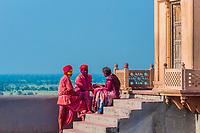 Lathmar Holi (Holi, Festival of Colors), Nandgaon, near Mathura, Uttar Pradesh, India.