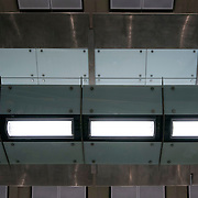 December 12, 2016 - New York, NY :  A view of the ceiling and lighting in the 86th Street Second Avenue subway station on Monday morning. After years of delays, the new subway line is preparing to welcome its first straphangers. CREDIT: Karsten Moran for The New York Times