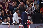 Gianmarco Pozzecco, tifosi<br /> Umana Reyer Venezia - Banco di Sardegna Dinamo Sassari<br /> Playoff - Finale - Gara 7<br /> Legabasket 2018/2019<br /> Venezia,, 22/06/2019<br /> Foto M.Ceretti / Ciamillo-Castoria