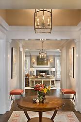 1900 Virginia Ave. McLean, VA contractor JK developement Hallway foyer entrance archway