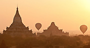 Me Nyein Kon temple, Bagan, Burma:  4,000 temples in 26 miles radius, these ancient temples rival Angkor Wat as one of the greatest architectural sites of the world.
