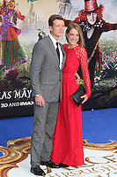 Ed Speelers, Alice Through The Looking Glass - European film premiere, Leicester Square gardens, London UK, 10 May 2016, Photo by Richard Goldschmidt