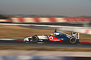 February 21, 2012: Formula One Testing, Circuit de Catalunya, Barcelona, Spain. Lewis Hamilton, McLaren-Mercedes MP4-27