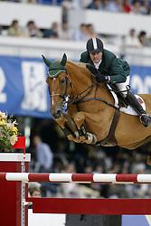 Babington Kevin, (IRL), Carling King<br /> World Equestrian Games Jerez de la Fronteira 2002<br /> Photo © Dirk Caremans