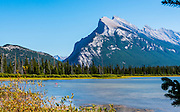 Vermillion Lakes with Mount Rundle in the background. Banff National Park, Alberta, Canada.