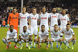 19.09.2013, White Hart Lane, London, ENG, UEFA Champions League, Tottenham Hotspur vs Toromsoe IL, Gruppe K, im Bild Tottenham Hotspurs lean line up  during UEFA Champions League group K match between Tottenham Hotspur vs Toromsoe IL at the White Hart Lane, London, United Kingdom on 2013/09/19 . EXPA Pictures © 2013, PhotoCredit: EXPA/ Mitchell Gunn <br /> <br /> ***** ATTENTION - OUT OF GBR *****