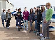 Air marking with Phoenix 99s at Eagle Nest in Aguila, AZ on February 10, 2018.<br /> <br /> Left to right: Lauren Bills, Lexie Ciccone, Carole Cooke, Diana LeSueur Andreson, Courtney Smith, Sarah Castillo, Sam Sizemore, Jordan Matthews, Ksenia Kerentseva, Judy Yerian.