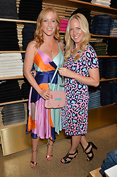 Left to right, SARAH-JANE MEE and ROSIE NIXON at a party to celebrate the paperback lauch of The Stylist by Rosie Nixon hosted by Donna Ida at her store at 106 Draycott Avenue, London on 17th August 2016.