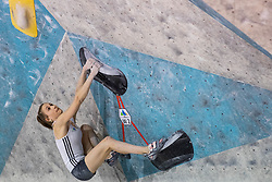 Tjasa Slemensek during training competition of Slovenian National Climbing team before new season, on June 30, 2020 in Koper / Capodistria, Slovenia. Photo by Vid Ponikvar / Sportida