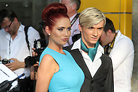 LONDON - MAY 27: Amy Childs; Harry Derbidge attend the Arqiva British Academy Television Awards at the Royal Festival Hall, London, UK. May 27, 2012. (Photo by Richard Goldschmidt)