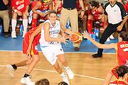 DESCRIZIONE : Ortona Italy Italia Eurobasket Women 2007 Italia Spagna Italy Spain <br /> GIOCATORE : Raffaella Masciadri <br /> SQUADRA : Nazionale Italia Donne Femminile <br /> EVENTO : Eurobasket Women 2007 Campionati Europei Donne 2007 <br /> GARA : Italia Spagna Italy Spain <br /> DATA : 29/09/2007 <br /> CATEGORIA : Penetrazione <br /> SPORT : Pallacanestro <br /> AUTORE : Agenzia Ciamillo-Castoria/E.Castoria <br /> Galleria : Eurobasket Women 2007 <br /> Fotonotizia : Ortona Italy Italia Eurobasket Women 2007 Italia Spagna Italy Spain <br /> Predefinita :