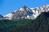 Mountain View From Seward Alaska
