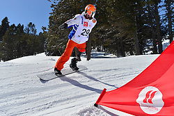 Europa Cup Finals Banked Slalom, MIHAI Papara, ROU at the 2016 IPC Snowboard Europa Cup Finals and World Cup