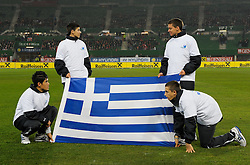 17.11.2010, Ernst Happel Stadion, Wien, AUT, Freundschaftliches Länderspiel, Österreich vs Griechenland, im Bild // during international friendly football match, Austria vs Greece at Ernst-Happel-Stadion Vienna on 17/11/2010. EXPA Pictures © 2010, PhotoCredit: EXPA/ G. Holoubek