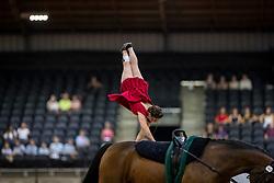 NOEL Manon (FRA), Kirch de la Love<br /> Tryon - FEI World Equestrian Games™ 2018<br /> Voltigieren Kür/Freestyle Damen Einzelentscheidung<br /> 19. September 2018<br /> © www.sportfotos-lafrentz.de/Stefan Lafrentz