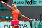 Roland Garros 2011. Paris, France. May 26th 2011..Dutch player Arantxa RUS against Kim CLIJSTERS