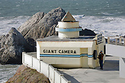 Camera Obscura at Cliff House on Ocean Beach in San Francisco, CA Dec. 27, 2006<br />