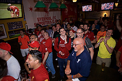 CHICAGO, ILLINOIS, USA - Wednesday, July 17, 2019: Liverpool fans attend a supporters' event at AJ Hudson's Public House in Chicago on day two of the club's pre-season tour of America. (Pic by David Rawcliffe/Propaganda)