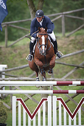 Vos Robbert (NED) - Another Pleasure<br /> Longines Spring Classic of Flanders<br /> CSIO5 Jumping Lummen 2014<br /> © Dirk Caremans