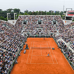 General view of Court Suzanne Lenglen during Day 10 for the French Open 2018 on June 5, 2018 in Paris, France. (Photo by Anthony Dibon/Icon Sport)