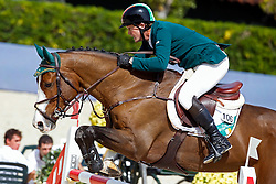 Hanley Cameron (IRL) - Antello Z<br /> Furusiyya FEI Nations Cup Jumping Final Round 1<br /> CSIO Barcelona 2013<br /> © Dirk Caremans