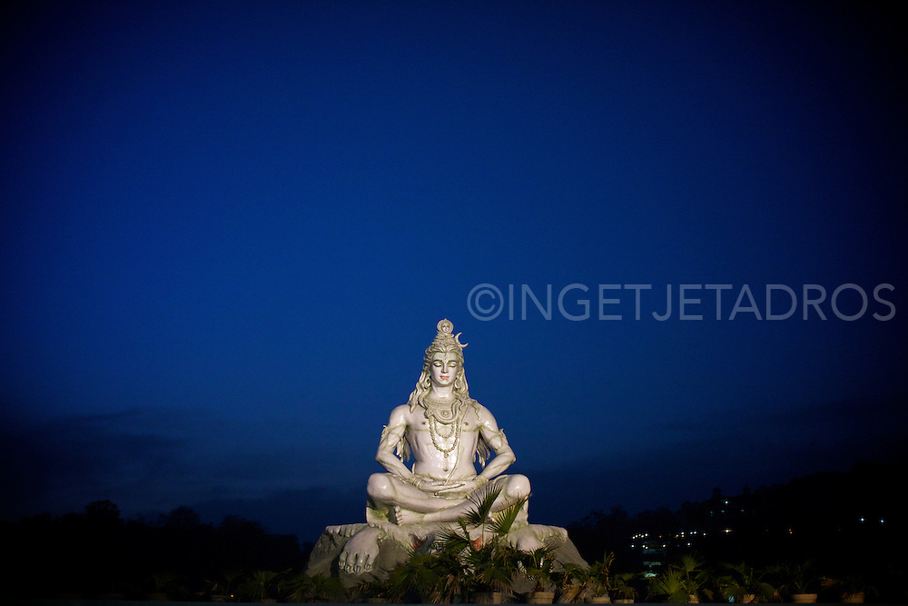 Religious statue in Risjikesh | India