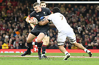 Rugby Union - 2017 Under Armour Series (Autumn Internationals) - Wales vs. Georgia<br /> <br /> Scott Williams of Wales  attacks, at The Principality Stadium (Millennium Stadium), Cardiff.<br /> <br /> COLORSPORT/WINSTON BYNORTH