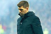 Rangers Manager Steven Gerrard during the Betfred Scottish League Cup Final match between Rangers and Celtic at Hampden Park, Glasgow, United Kingdom on 8 December 2019.