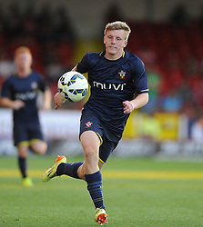 Southampton's Matt Targett - Photo mandatory by-line: Joe Meredith/JMP - Mobile: 07966 386802 21/07/2014 - SPORT - FOOTBALL - Swindon - County Ground - Swindon Town v Southampton