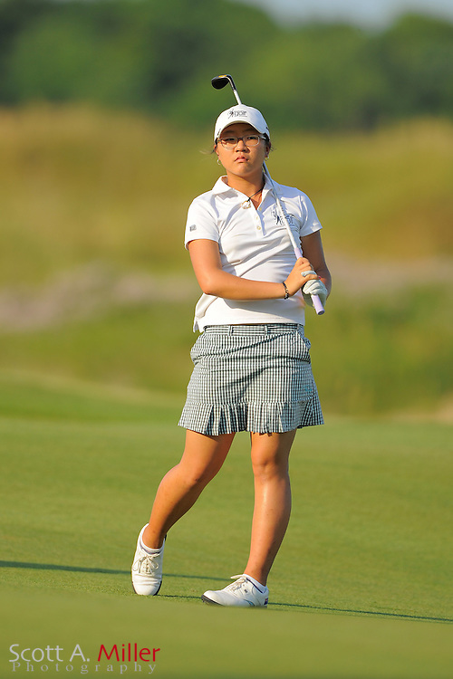 Lydia Ko during the first round of the US Women's Open at Blackwolf Run on July 5, 2012 in Kohler, Wisconsin. ..©2012 Scott A. Miller