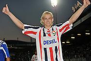 30-08-2008 Voetbal:Willem II: Ajax:Tilburg<br /> Frank Demouge in belangstelling van Heerenveen<br /> Foto: Geert van Erven