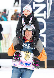 21.01.2017, Hahnenkamm, Kitzbühel, AUT, FIS Weltcup Ski Alpin, KitzCharity Trophy, im Bild Tobias Moretti (BWT) // during the KitzCharity Trophy of FIS Ski Alpine World Cup at the Hahnenkamm in Kitzbühel, Austria on 2017/01/21. EXPA Pictures © 2017, PhotoCredit: EXPA/ Serbastian Pucher
