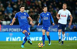 Harry Maguire of Leicester City - Mandatory by-line: Robbie Stephenson/JMP - 28/11/2017 - FOOTBALL - King Power Stadium - Leicester, England - Leicester City v Tottenham Hotspur - Premier League