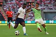 England Danny Welbeck (21) with a shot on goal during the Friendly International match between England and Nigeria at Wembley Stadium, London, England on 2 June 2018. Picture by Matthew Redman.