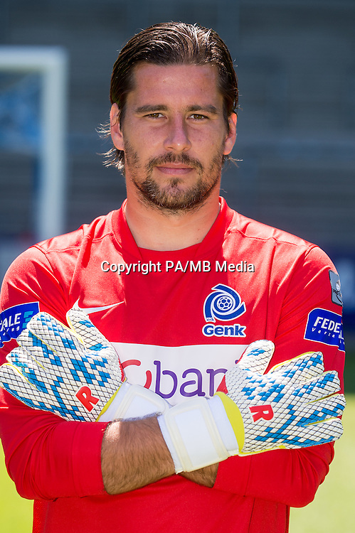 Genk's goalkeeper Laszlo Koteles pictured during the 2015-2016 season photo shoot of Belgian first league soccer team KRC Genk, Friday 10 July 2015 in Genk