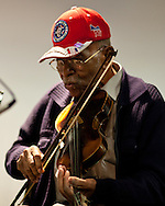 "Joe Thompson ""Old Time "" String Band Musician mentor for the Carolina Chocolate Drops and others Monday Feb. 20, 2012 at age 93 in Mebane NC. Mr Tompson recieved the NEA National Heritage Fellowship in 2007 and the  North Carolina Heritage Award he  in 1991."