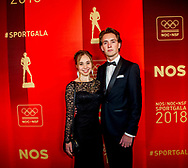 19-12-2018 NOC*NSF SPORTGALA: AMSTERDAM  Eythora Thorsdottir met partner  copyrught michel utrecht