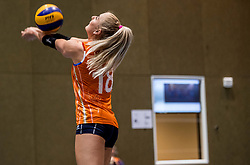10-05-2018 NED: Training Dutch volleyball team women, Arnhem<br /> Marrit Jasper #18 of Netherlands