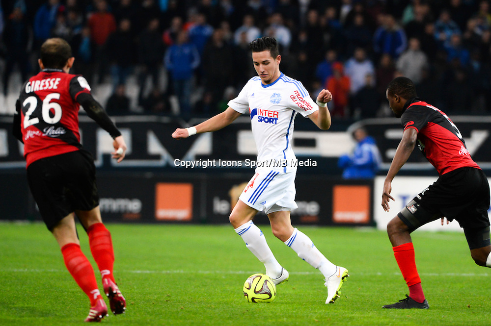 Florian THAUVIN - 18.01.2015 - Marseille / Guingamp - 21eme journee de Ligue 1 -<br />Photo : Gaston Petrelli / Icon Sport