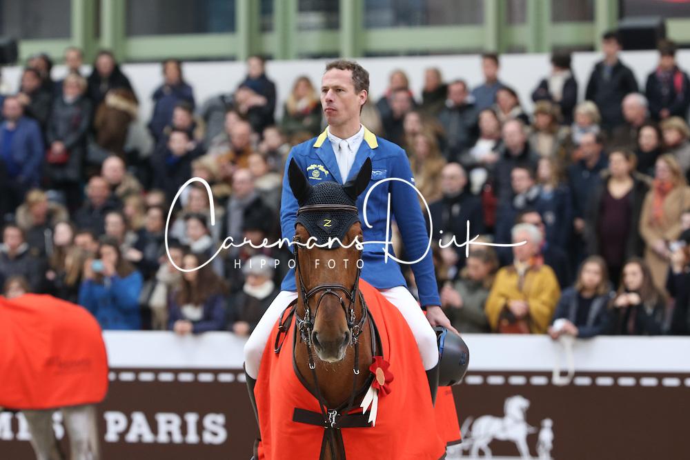 Ahlmann Christian, (GER), Epleaser van T Heike<br /> Grand Prix Hermes <br /> Saut Hermes Paris 2016<br /> © Hippo Foto - Counet Julien