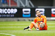17-04-2016 VOETBAL:WILLEM II-ADO DEN HAAG:TILBURG<br /> Doelman Kostas Lamprou van Willem II teleurgesteld na afloop van de wedstrijd op de grasmat<br /> Foto: Geert van Erven