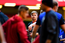 Aaron Wainwright during the training session - Photo mandatory by-line: Ryan Hiscott/JMP - 29/10/2018 - RUGBY - Principality Stadium - Cardiff, Wales - Autumn Series - Wales Rugby Open Training Session