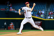 PHOENIX, ARIZONA - APRIL 27:  Patrick Corbin #46 of the Arizona Diamondbacks delivers a pitch in the first inning against the St. Louis Cardinals at Chase Field on April 27, 2016 in Phoenix, Arizona.  (Photo by Jennifer Stewart/Getty Images)