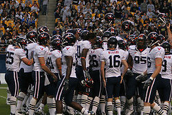 The Virginia Cavaliers fell to the Pittsburgh Panthers 38-13 on September 2, 2006 at Heinz Field in Pittsburgh, PA.