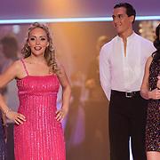 NLD/Hilversum/20120916 - 4de live uitzending AVRO Strictly Come Dancing 2012, Sabine Uitslag en Kim Lian van der Meij